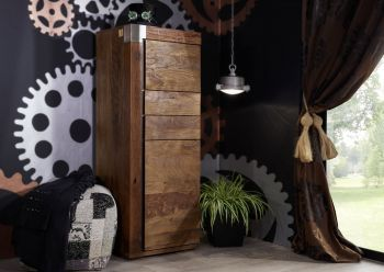 Highboard Mango 53x45x142 lackiert AMSTERDAM #06