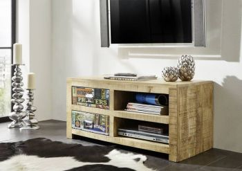 Mobile TV in legno mango - stampato 100x45x45 DETROIT #50