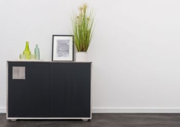 HELSINKI Sideboard #213 Wildeiche ice grey lackiert